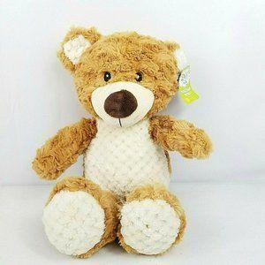 Spark Create Imagine Teddy Bear Plush Rattle Toy